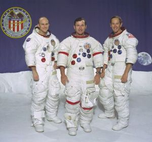 NASA Apollo 16 Official Crew Photograph